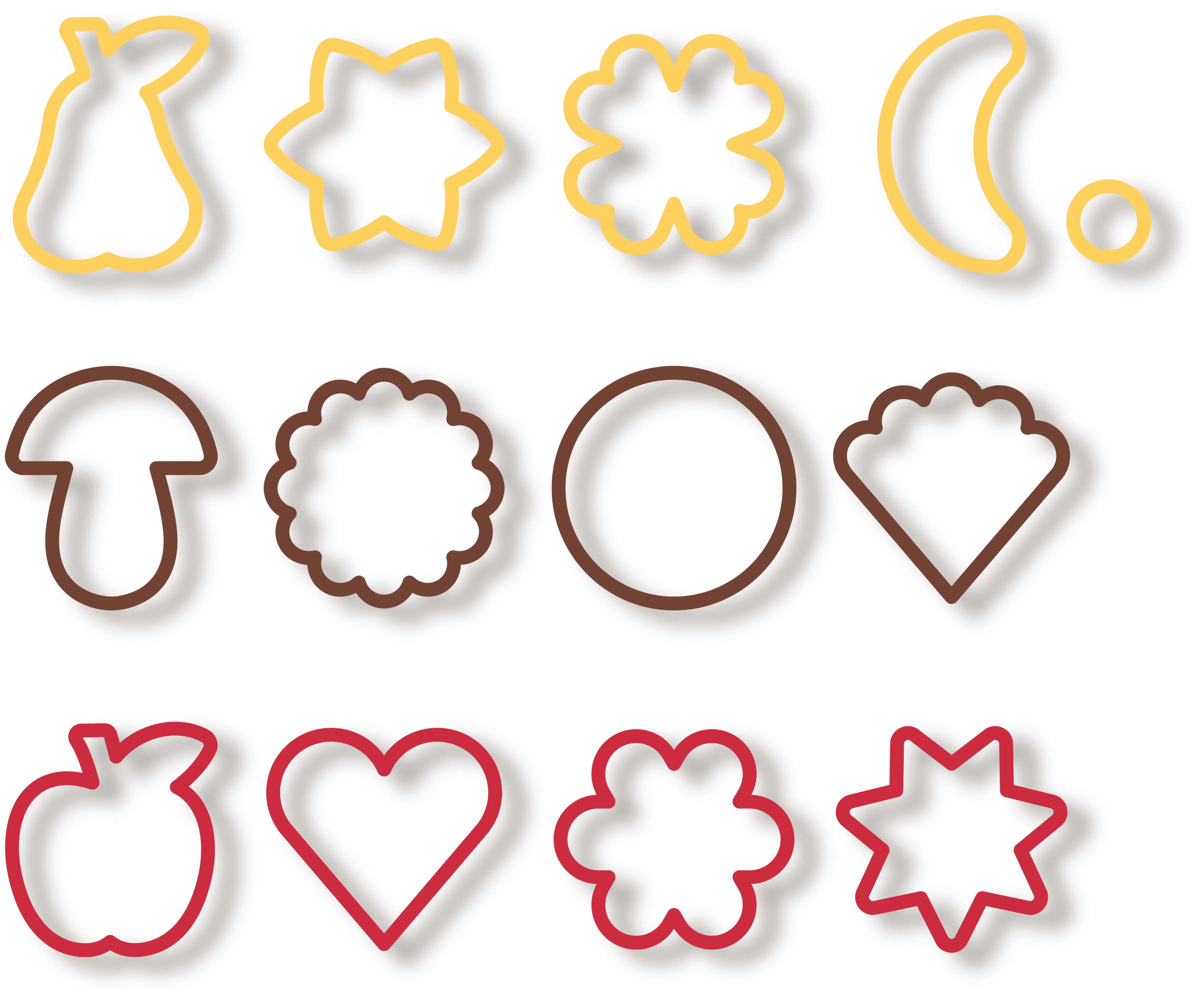 Traditional Cookie Cutters, 13 Pcs  Delicia