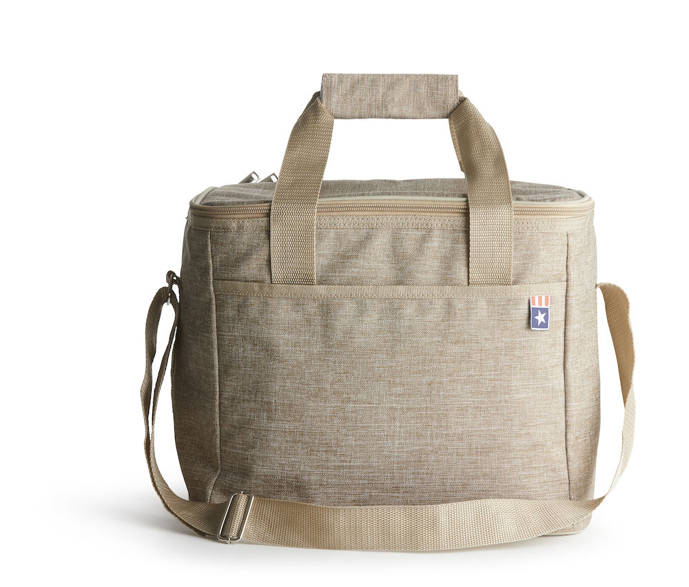 Nautic cooler bag linen