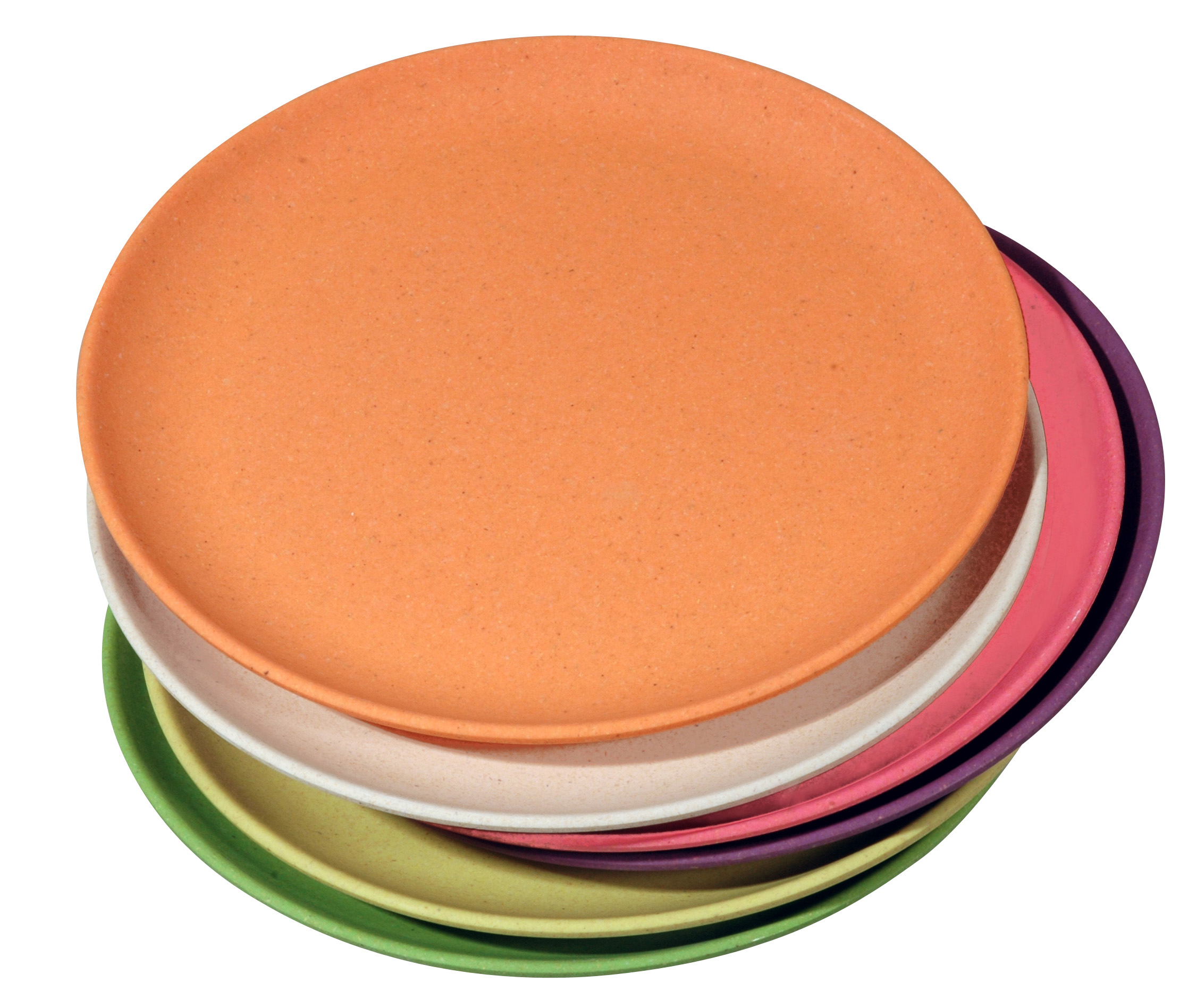 TAKE THE CAKE set of 6 Rainbow assorted