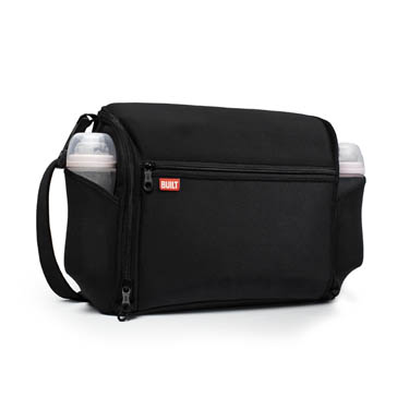 The Station Convertible: Diaper Bag Black