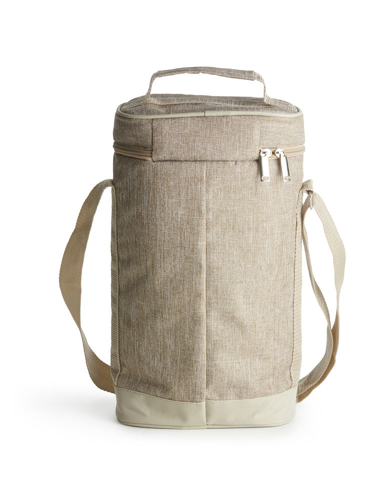 Nautic wine bag linen