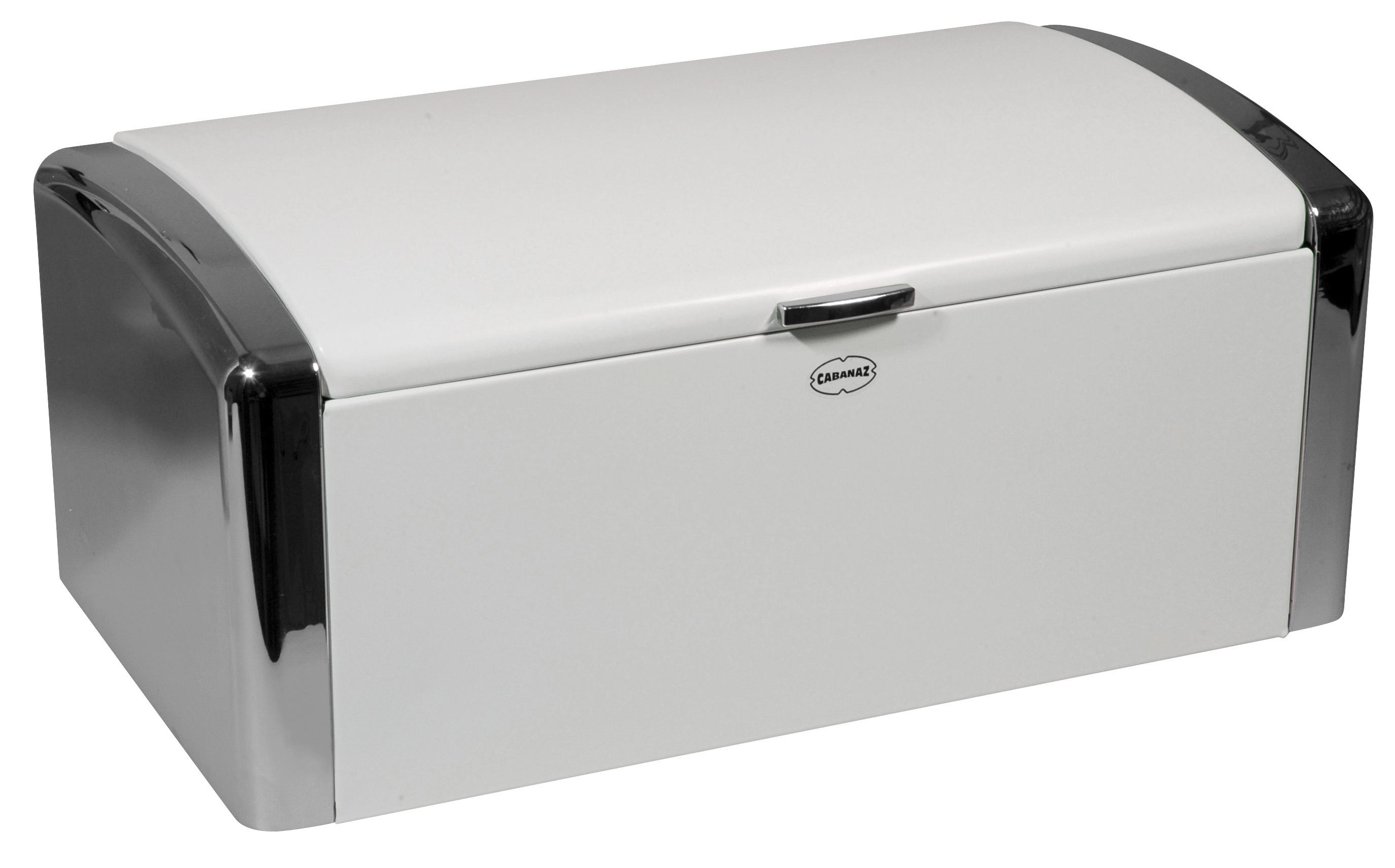 Formahouse Kitchen Storage Bread Box White