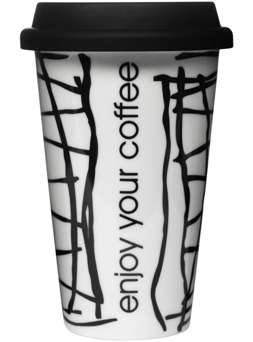 Cross Travel Mug With Silicone Lid