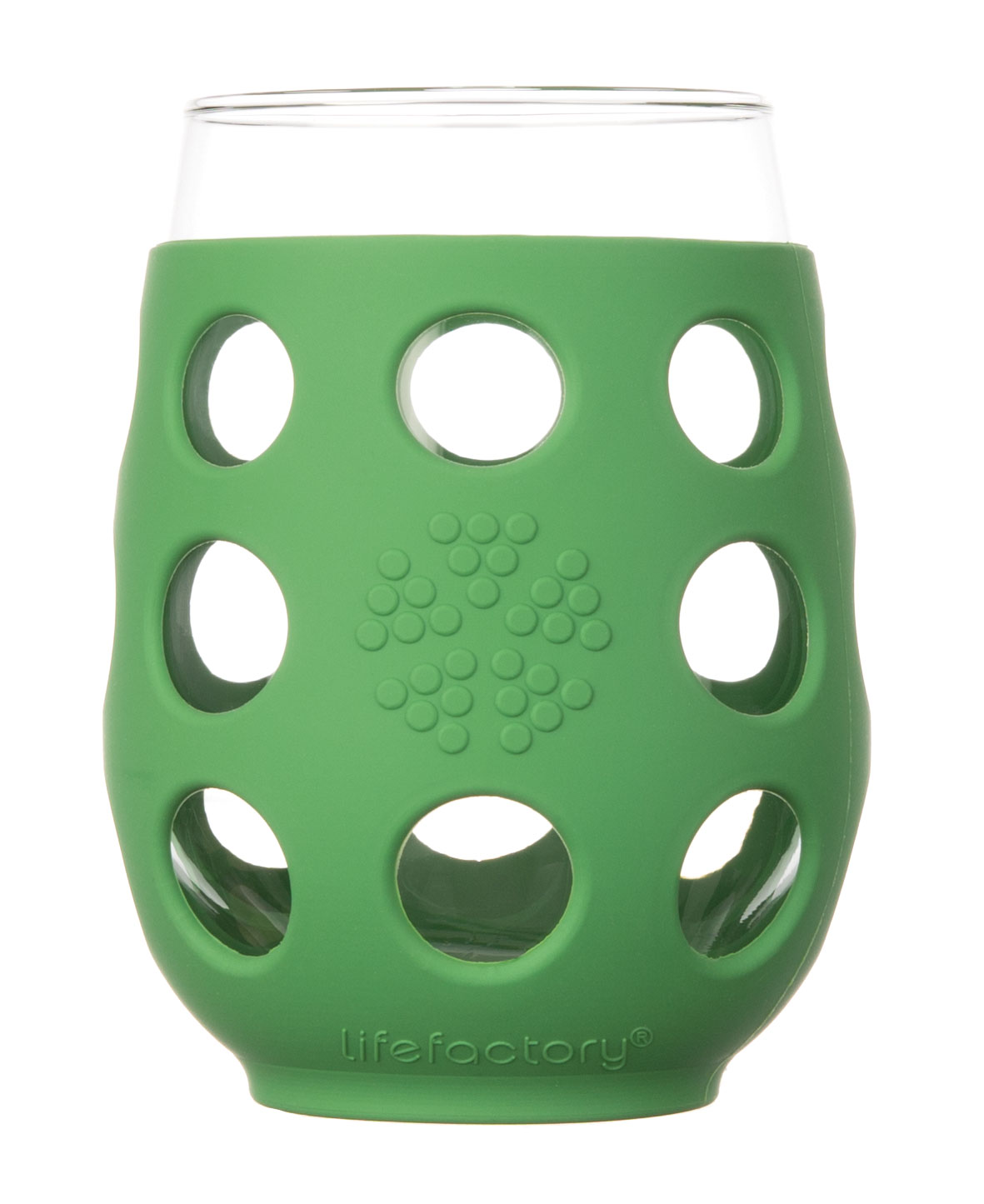 Lifefactory 17oz Wine Glass - 2pk - Grass Green