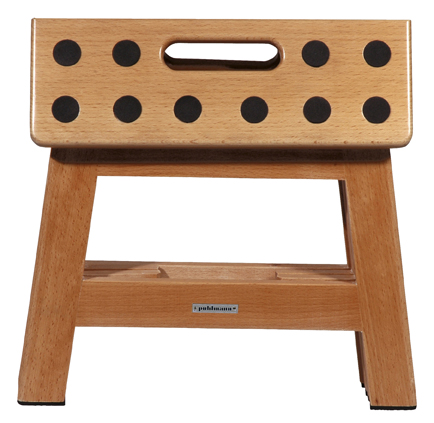 JAMES foldable stool  WOOD