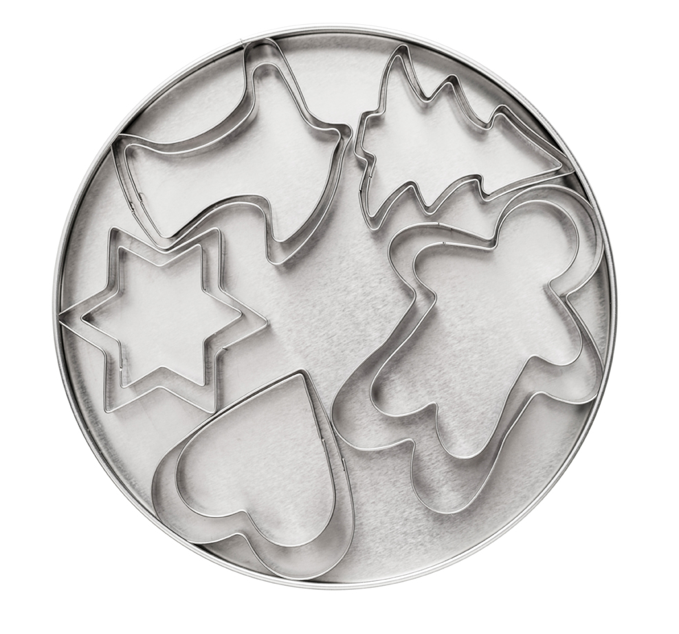 Cookie cutter set 10-pack