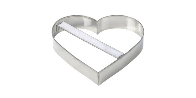 Large Cookie Cutters Heart Delicia