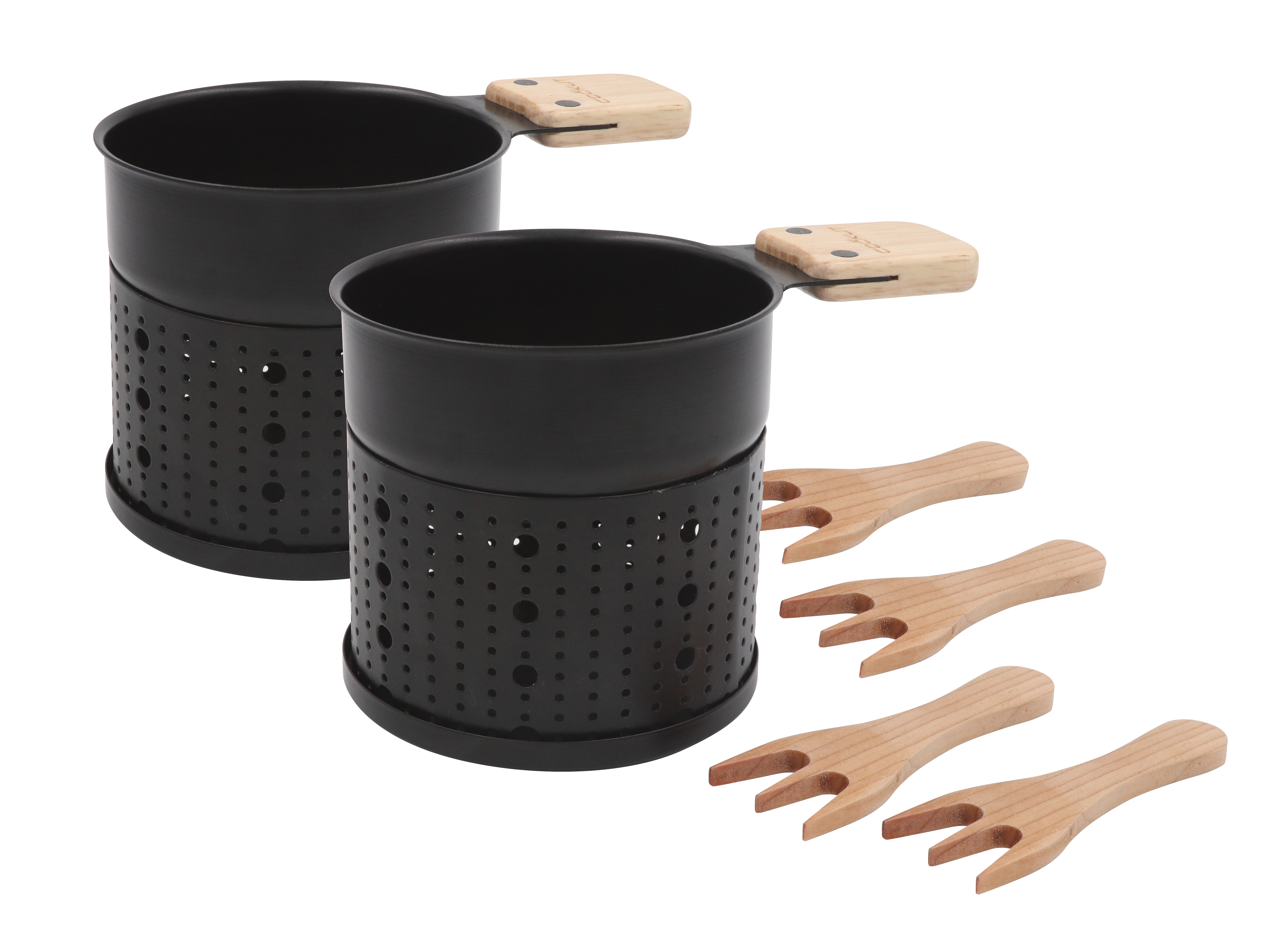 LUMI CHOCO - Chocolate fondue set for 4
