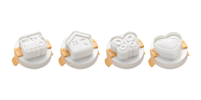 "Egg Shaping Moulds, 4 Pcs ""Presto"""