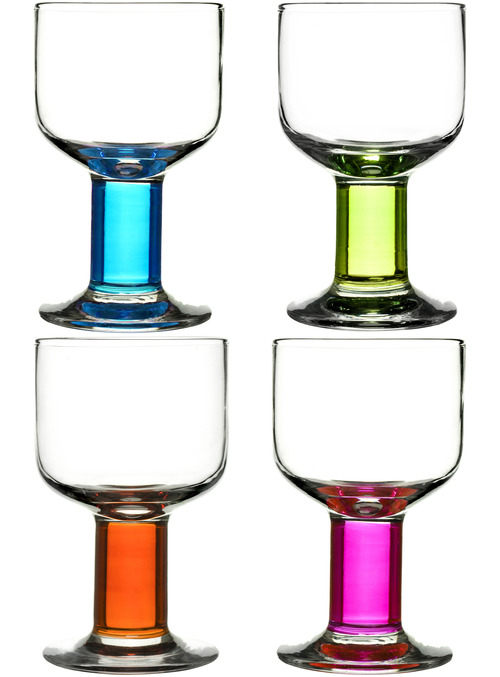 Club all-purpose glasses, 4-pack